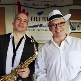 SambaSax - Nacim Brahimi et Célio Mattos
