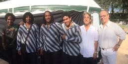 SambaSax - Magic Sax Quartet, Ernesto Burgos et Célio Mattos