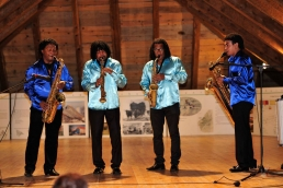 SambaSax - Magic Sax Quartet de Santiago de Cuba